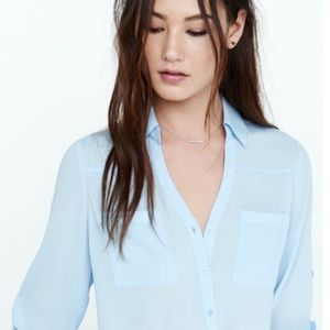 Express Portofino Slim Cut Button Down Shirt