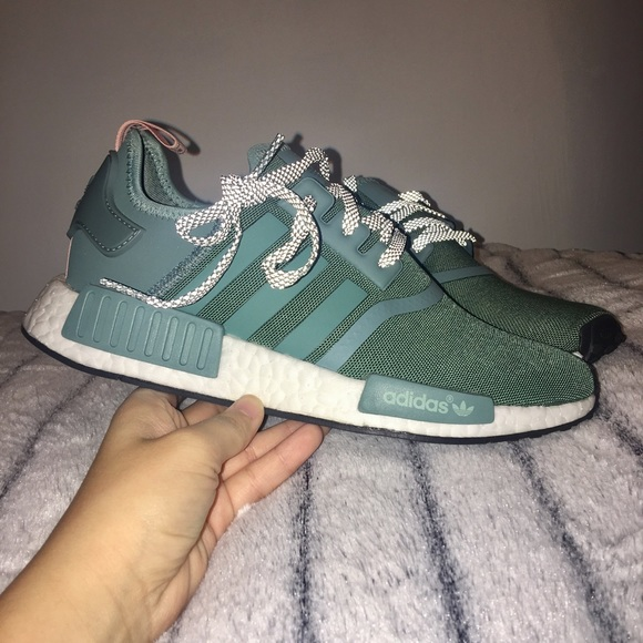 bf17a587c1dc0 Adidas NMD R1 in Vapour Steel Teal!