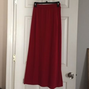 Ambiance Apparel Dresses & Skirts - Red Maxi Skirt 😍