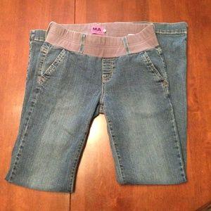 Maternal America Denim - Size Med Maternity Jeans by Maternal America