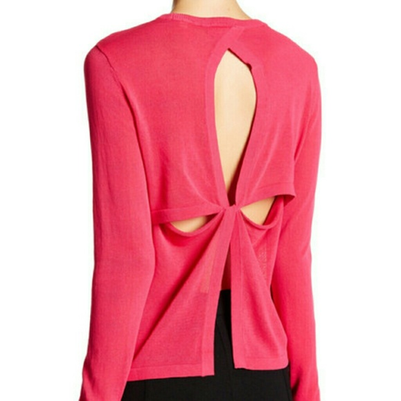 81% off A.L.C. Sweaters - 🎉 A.L.C. New Open Back L Pink Cotton ...