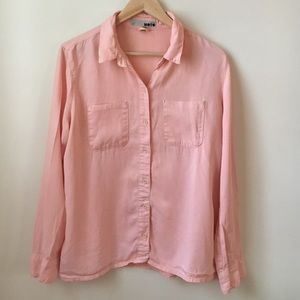 Topshop Moto button down shirt