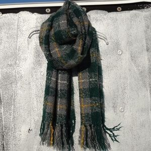 71bd990e071 Chic Brushed Plaid Blanket Scarf
