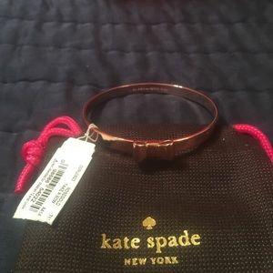 Kate Spade ♠️ bow bangle
