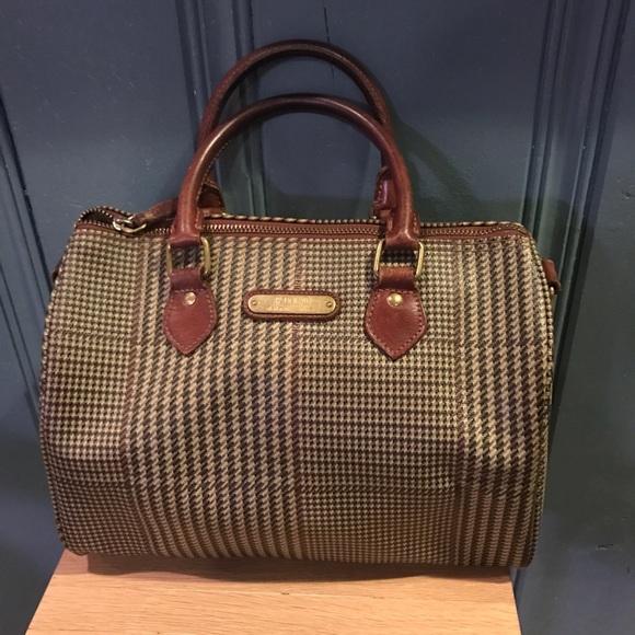 Vintage Ralph Lauren Polo Handbag. M 583889a54225becf5603f05f 178b467a55e0d