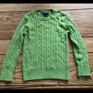 E-Land Kids Other - E-Land Boys Green Sweater Size 5