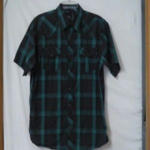 Micros Other - Micros mens size medium plaid shirt