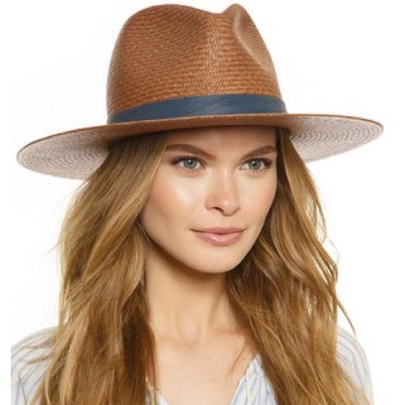 Janessa Leone Accessories - Janessa Leone Panton Straw Hat 116d44469569