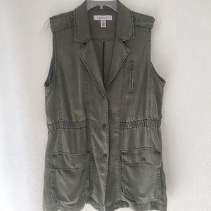 Kenneth Cole Reaction Jackets & Blazers - Soft Olive Green Vest