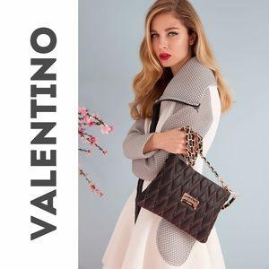 Mario Valentino Handbags - 💞Valentino Black quilted Convertible Bag NWT