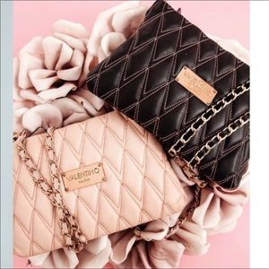 Mario Valentino Handbags - 💞Valentino Black quilted Convertible Bag NWT