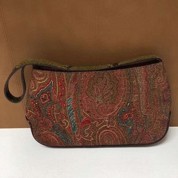 bac112e26967a Etro Handbags - Etro Small Shoulder Bag