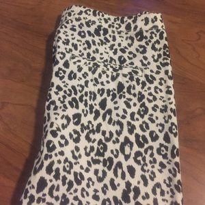 8bee9113c408 H&M Jeans | Black White Leopard Pants Bnwt | Poshmark