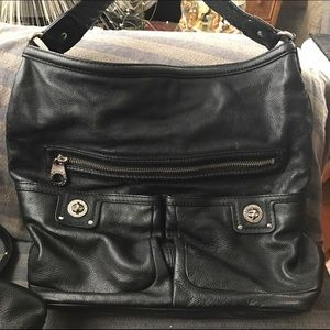 Marc Jacob  authentic black large bag.