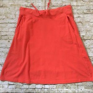 J. Crew Dresses & Skirts - 🎉SALE🎉 J. Crew Size XS Coral Cotton Skirt EUC