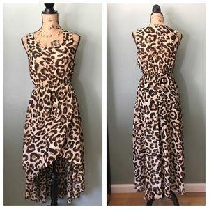 Sans Souci Dresses & Skirts - Sans Souci high low faux wrap dress! Size small!