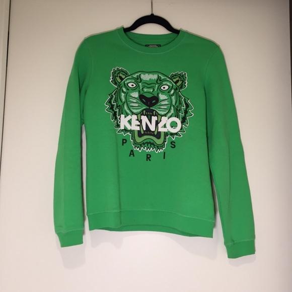 2dd74a42 Kenzo Sweaters | Lime Green Sweater | Poshmark