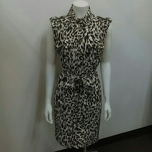 Calvin Klein Print Dress Sz. 8