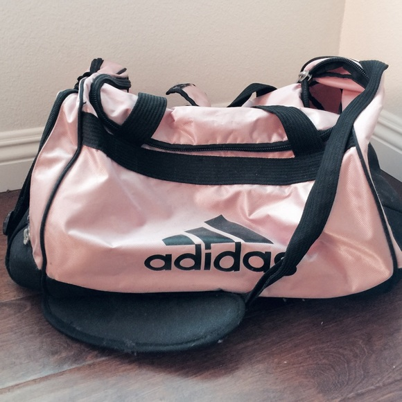 9cee567ae96b Adidas Handbags - Authentic Adidas Baby Pink Duffle Bag