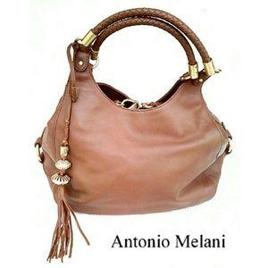 ANTONIO MELANI Handbags - 💕NEW💕BEAUTIFUL ANTONIO MELANI LEATHER SATCHEL