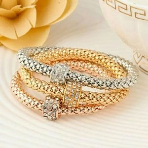 Jewelry - 3 Chain Bangle Silver/Gold/Rose Gold Bracelets