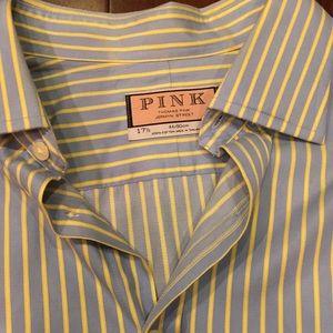Thomas Pink Other - Men's Thomas Pink striped dress button down shirt