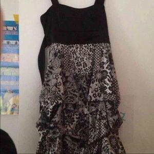 Ruby Rox Tiered Dress Girls 12