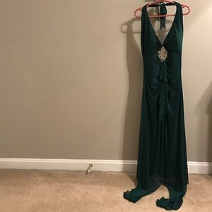Emerald green Evening dress