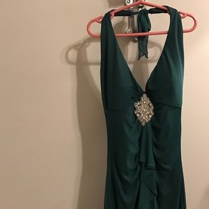 Rampage Dresses - Emerald green Evening dress