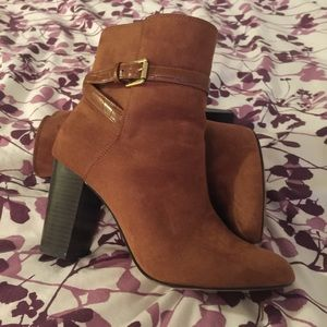 Brown H&M boots. Size 8.5