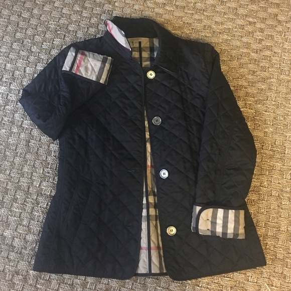 43% off Burberry Jackets & Blazers - Burberry Brit Copford Quilted ... : burberry brit copford quilted jacket black - Adamdwight.com