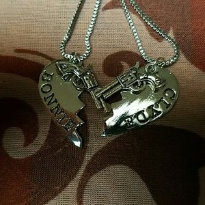 Jewelry - New Bonnie and Clyde necklace set