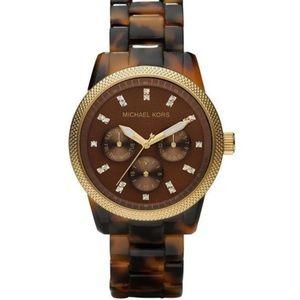 Michael Kors Accessories - Michael Kors Tortoise Shell Brown Women's Watch