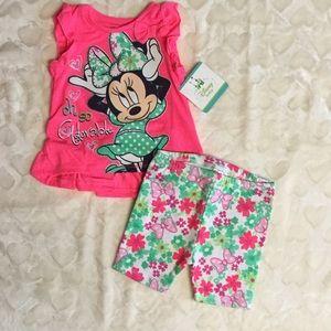 Disney Other - Minnie Mouse 2 Piece Set