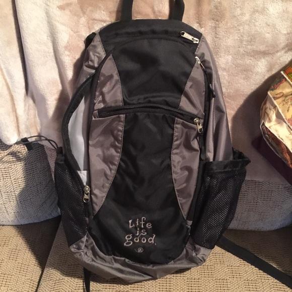 490e8bcae9df Life is Good Handbags - Life is good backpack