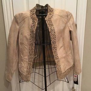 NWT Bagatelle soft leather jacket size XL