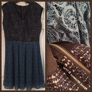 """W118 by Walter Baker Dresses & Skirts - W118 by Walter Baker """"Mixed Media"""" Dress."""