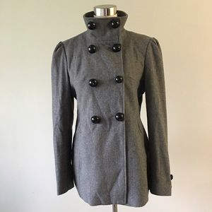 78ffa2d0aebcf Black Rivet Jackets   Coats - Black Rivet Grey Button Up Jacket