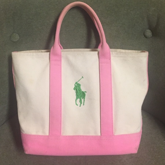 3a312f6f058f POLO by Ralph Lauren Small Canvas Tote. M 5838c61d78b31c4d1004efbf