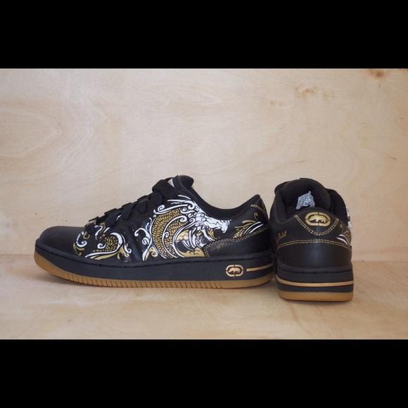 Ecko Unltd  Black Sneakers