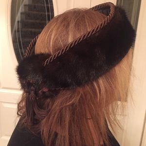 Accessories - Mink Fur  Head Band