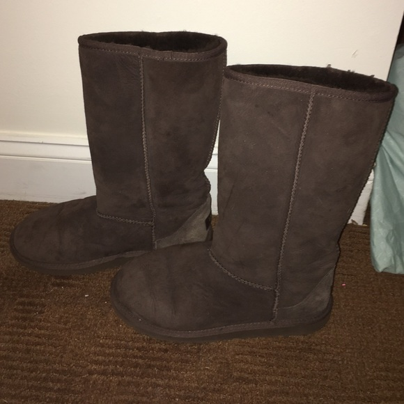ugg boots brown tall - photo #21