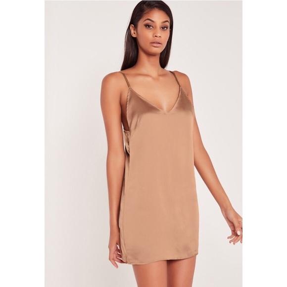 3f947d08cead0 Missguided Dresses | X Carli Bybel Satin Slip Dress 4 | Poshmark