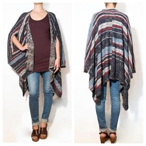 "Free People Sweaters - Free People ""Big Trail"" Poncho."