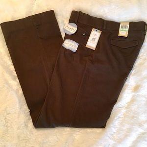 Dockers Pants - Dockers Mid Rise Curvy Fit Chocolate Pants