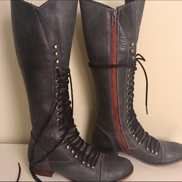 a9caefe20d5 Steve Madden Perrin Leather Lace-Up Boots