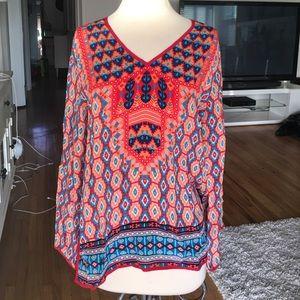 Tolani Tops - 100% silk blouse BNWT