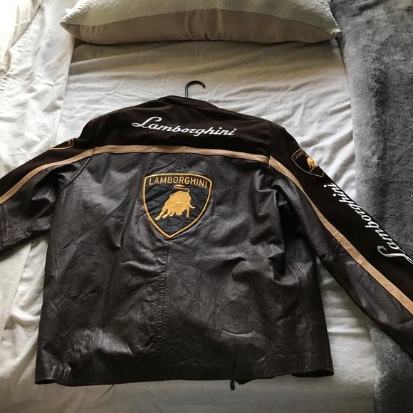 Jackets Coats Vintage Lamborghini Jacket Poshmark