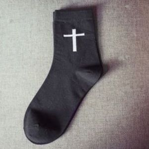 Accessories - Sale † Cross Ankle Socks