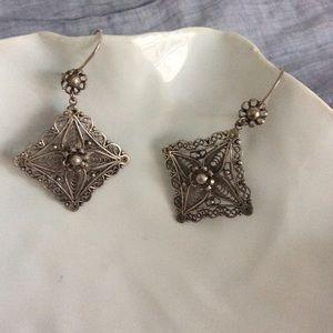 Jewelry - SALE🔥🔥🔥Handmade Chandelier Earrings ~ Silver